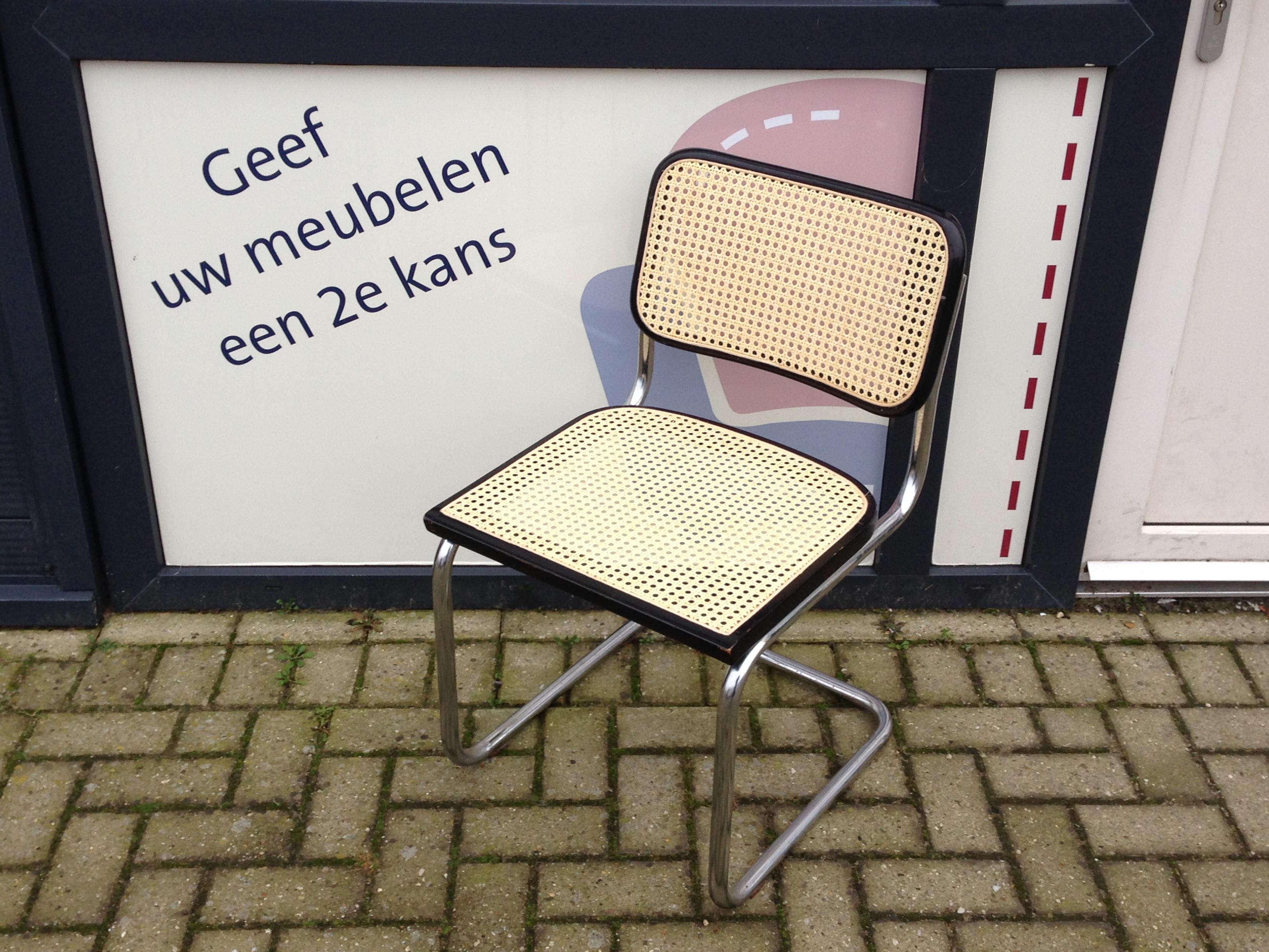 1 Rieten Stoel Bemat Door Lodewijk Zwolle
